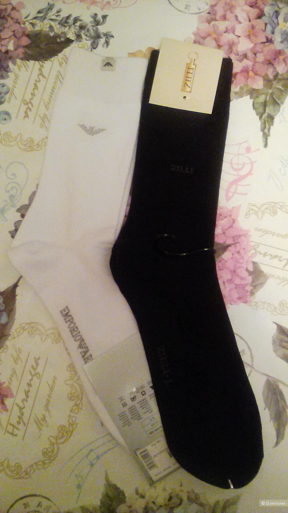 Сет  из  носков   Emporio Armani   и   Zilli   43-44 размер.