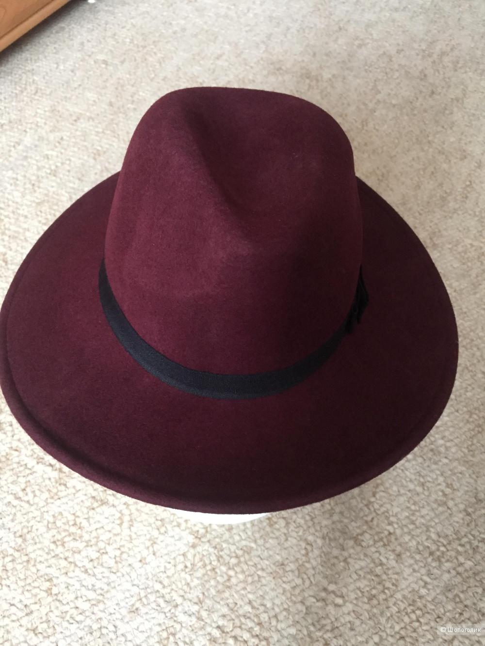 Шляпа шерсть ASOS один размер