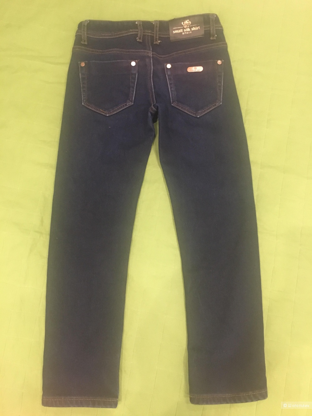 Утеплённые джинсы Small Silk Shirt,10лет.