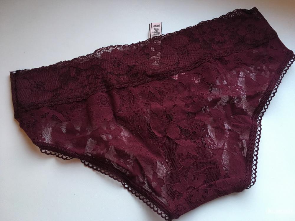 Кружевные трусики Victoria's Secret, размер S (сет из 3 штук)