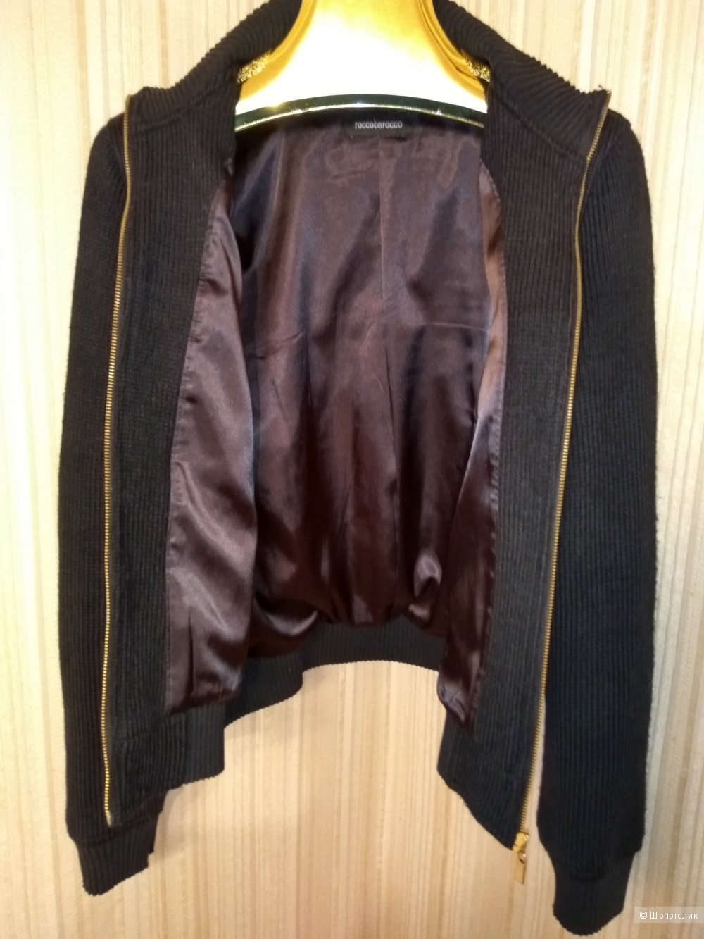 Куртка женская, RoccoBarocco, размер М.