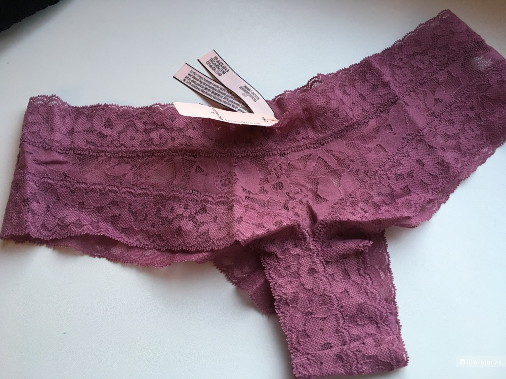 Кружевные трусики Cheeky Victoria's Secret, размер S (сет из 2 штук)