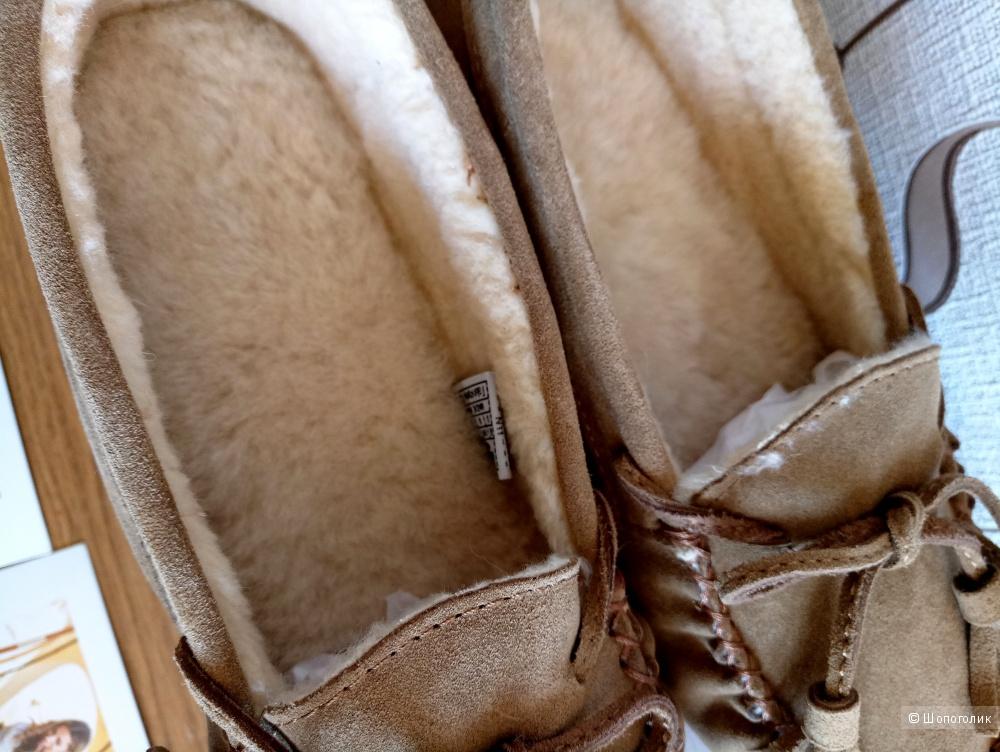 Мокасины на меху Bearpaw размер US 8M 38