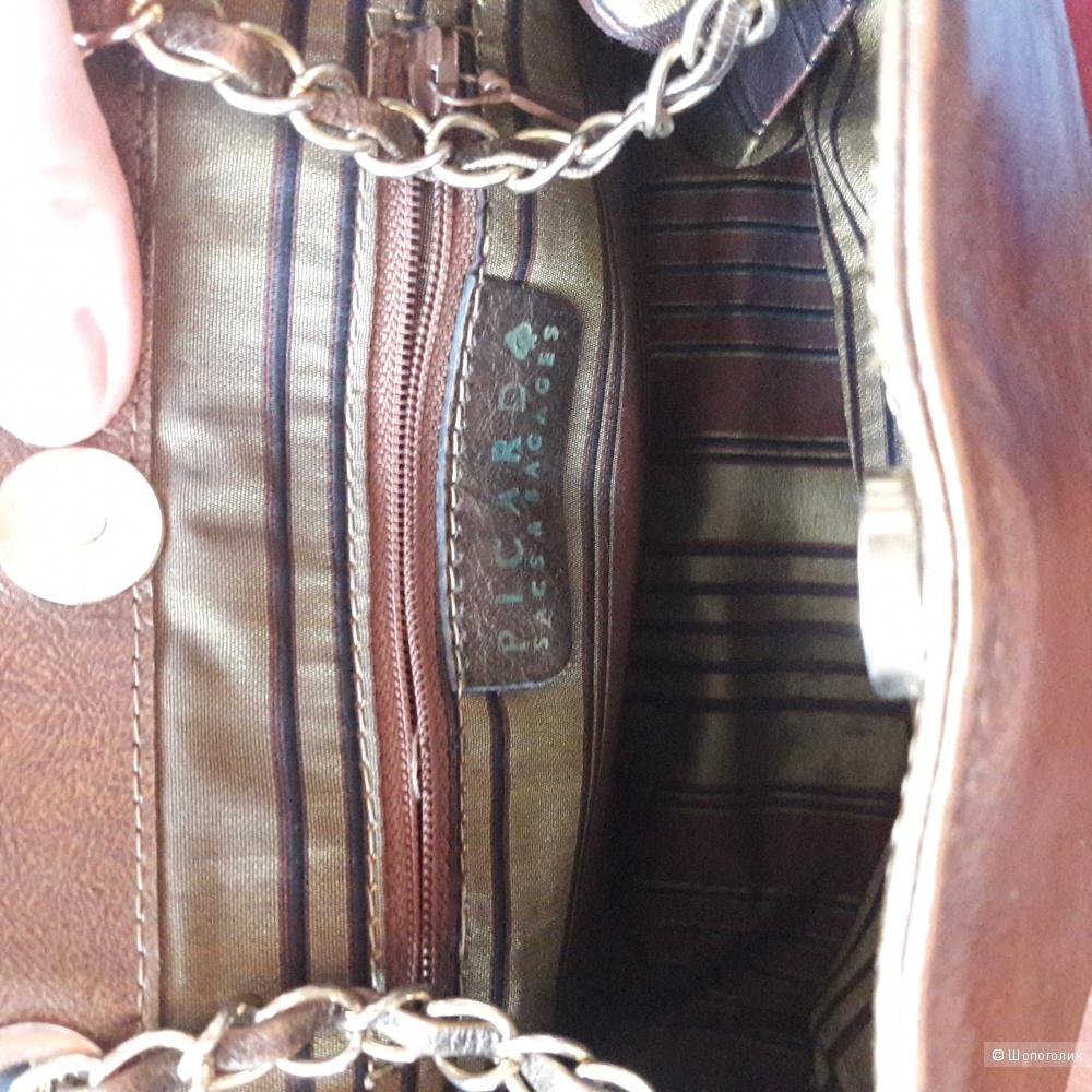 Кожаная сумка Picard