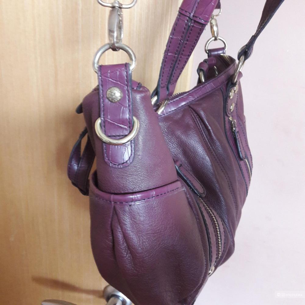 Кожаная сумка Etienne Aigner