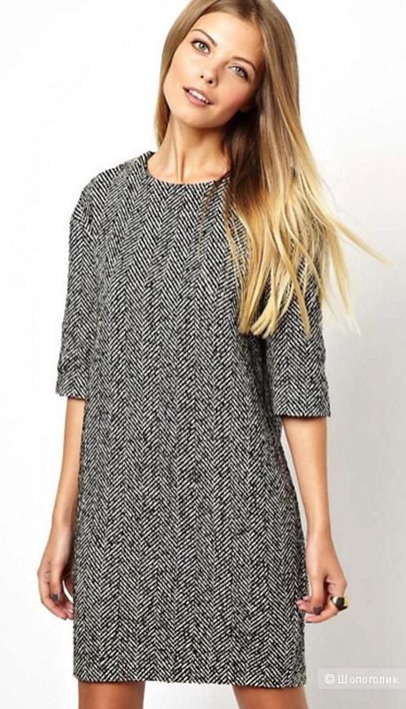 Платье ASOS теплое, UK 12
