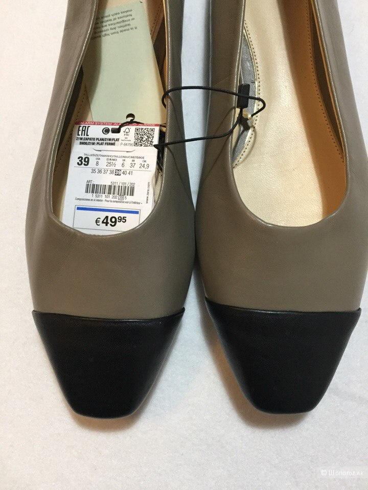 Балетки Zara 39р
