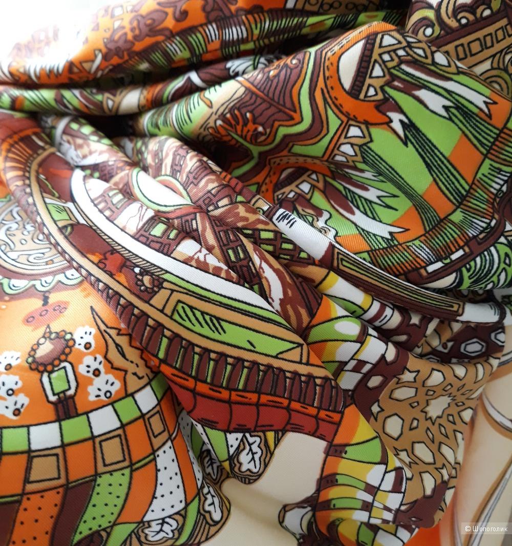 Шёлковая шаль, 150*150