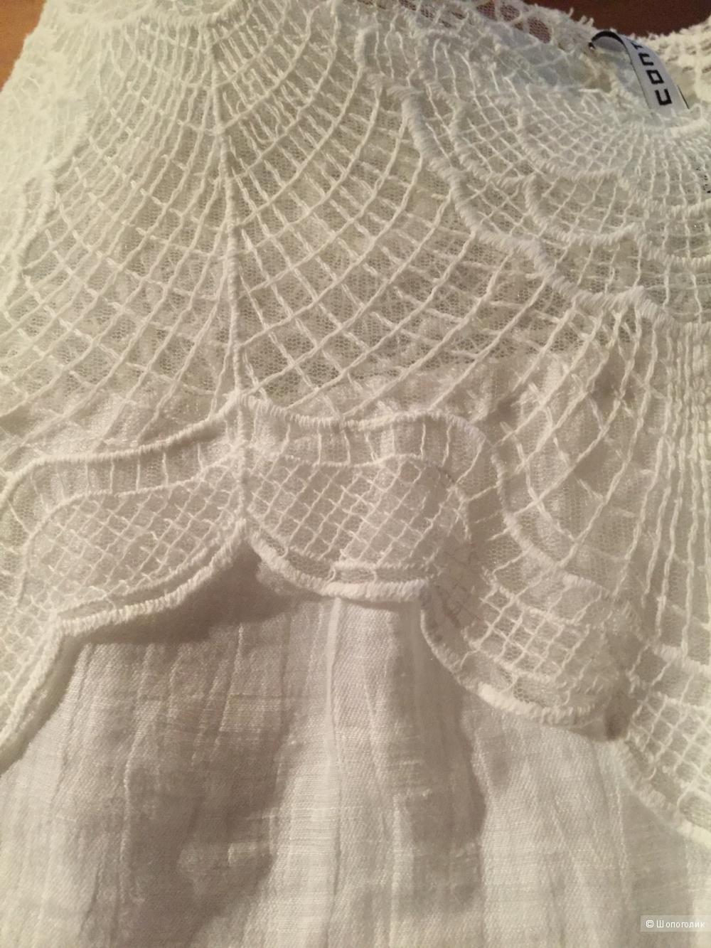 Блуза с кружевом Liviana Conti 46it