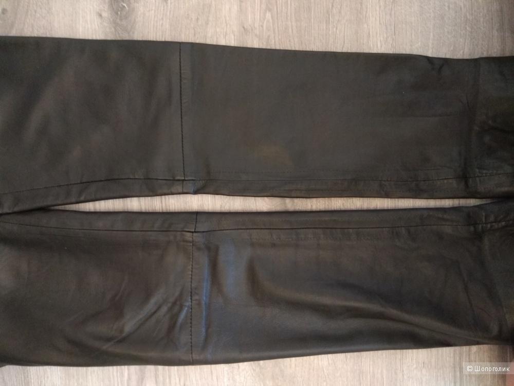 Кожаные брюки McQ Alexander McQueen 40-42 р