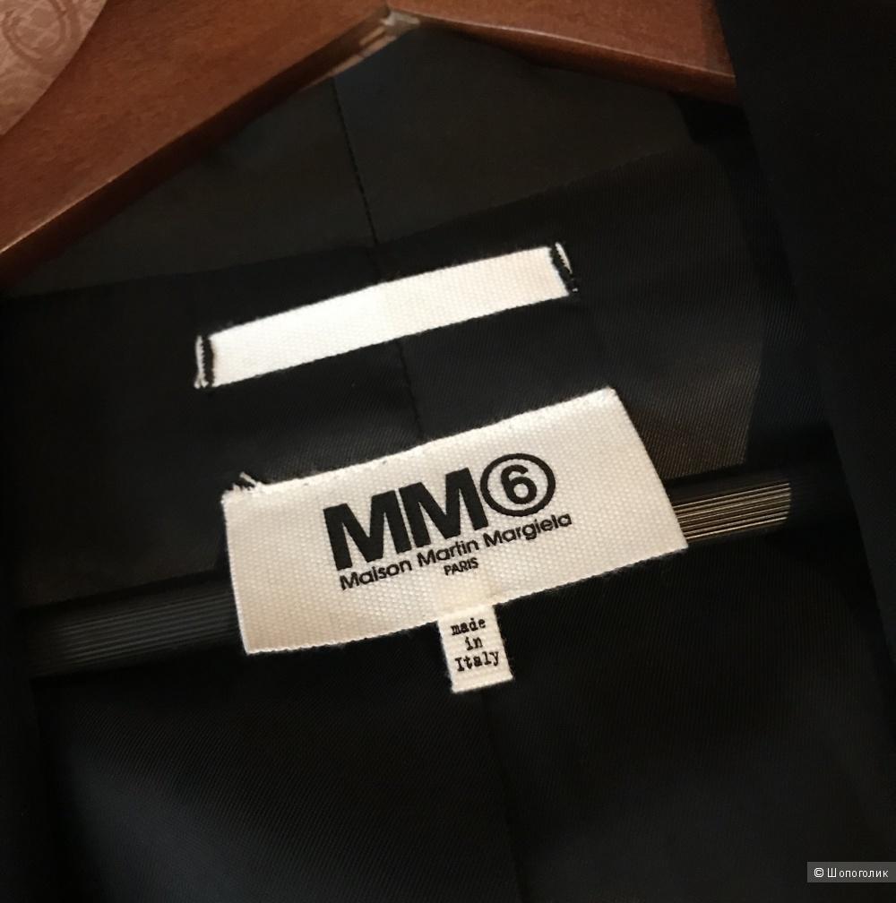 Блейзер MM6 Maison Martin Margiela, размер 44 IT