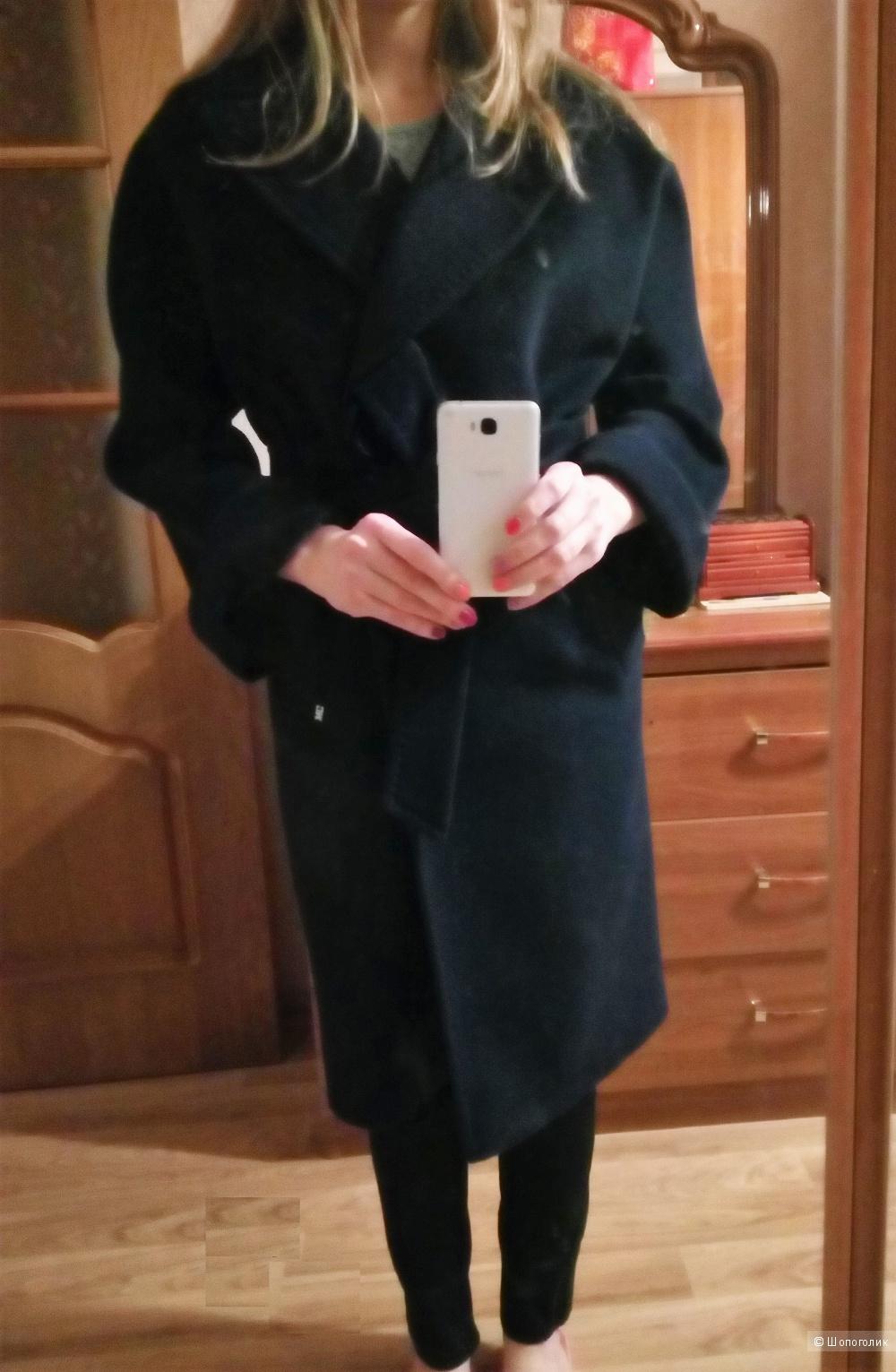 Демисезонное пальто-халат DOLCE VITA  размер 42