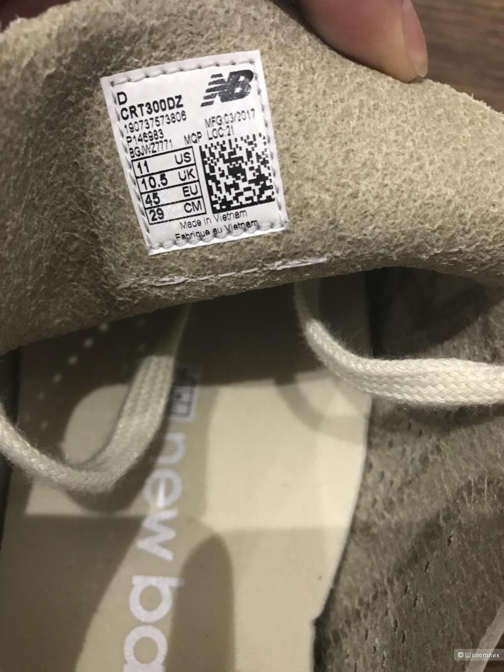 Мужские кеды New Balance, 44 размер