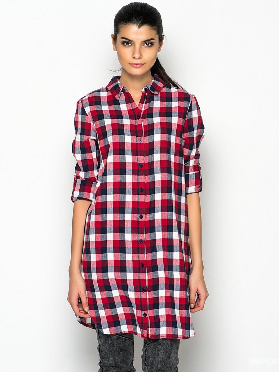 Удлинненая рубашка  бренда ONLY, размер М