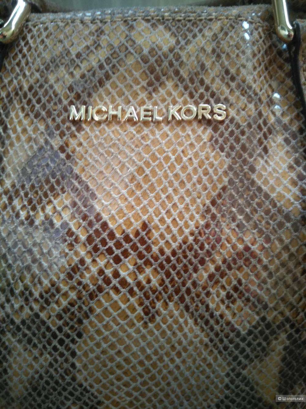 Сумка кожаная  Michael Kors