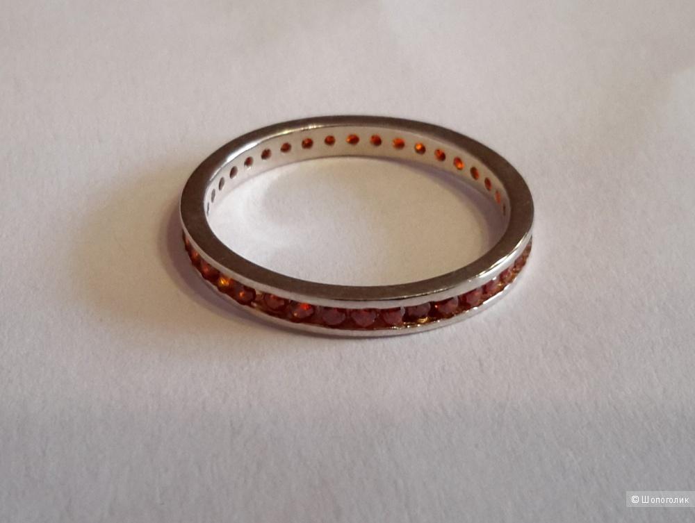 Кольцо серебро 925 размер 17-17,5
