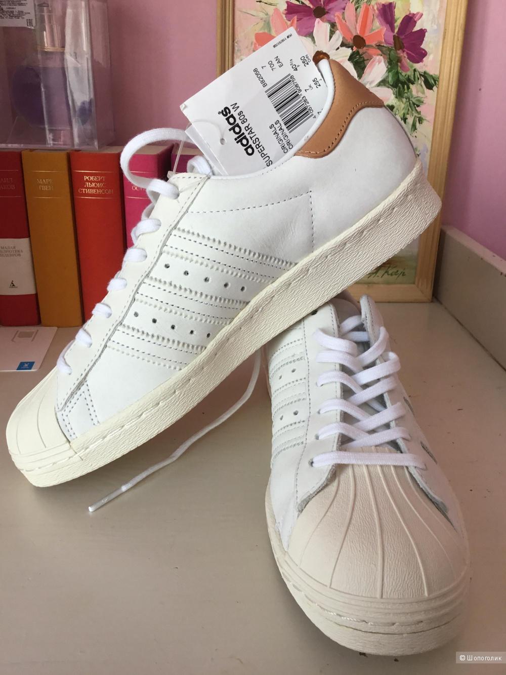 Кроссовки-кеда Adidas, размер 7UK