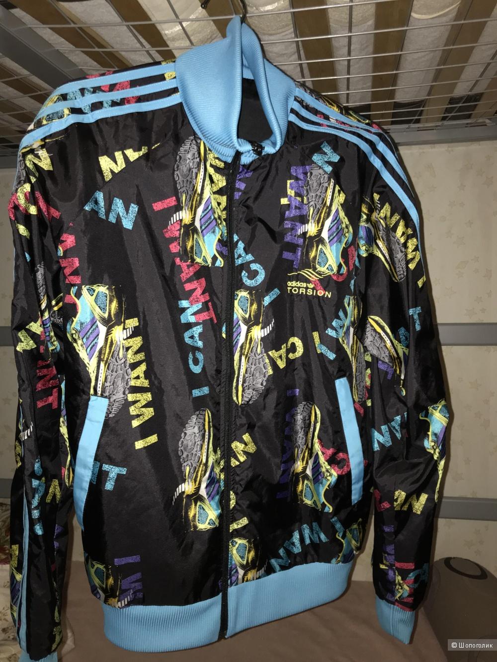 Куртка-ветровка adidas, размер L (48-50)