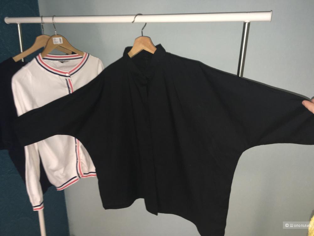 Рубашка, Calvin Klein, Oversize, 100% Хлопок