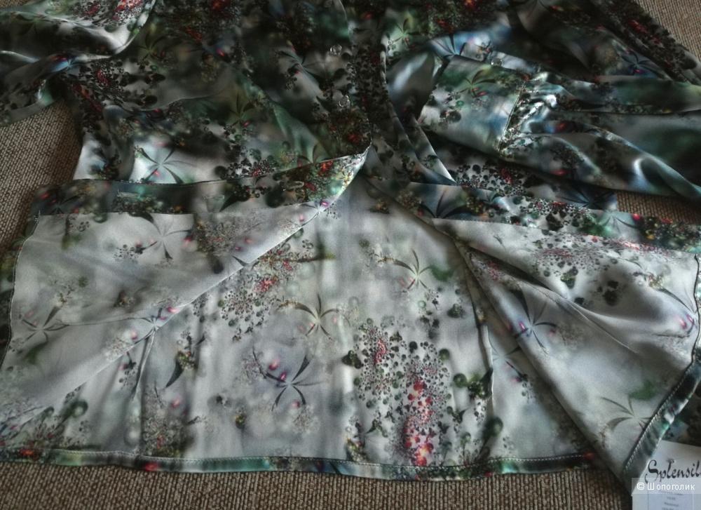 Шёлковая блуза Splensilk р.48