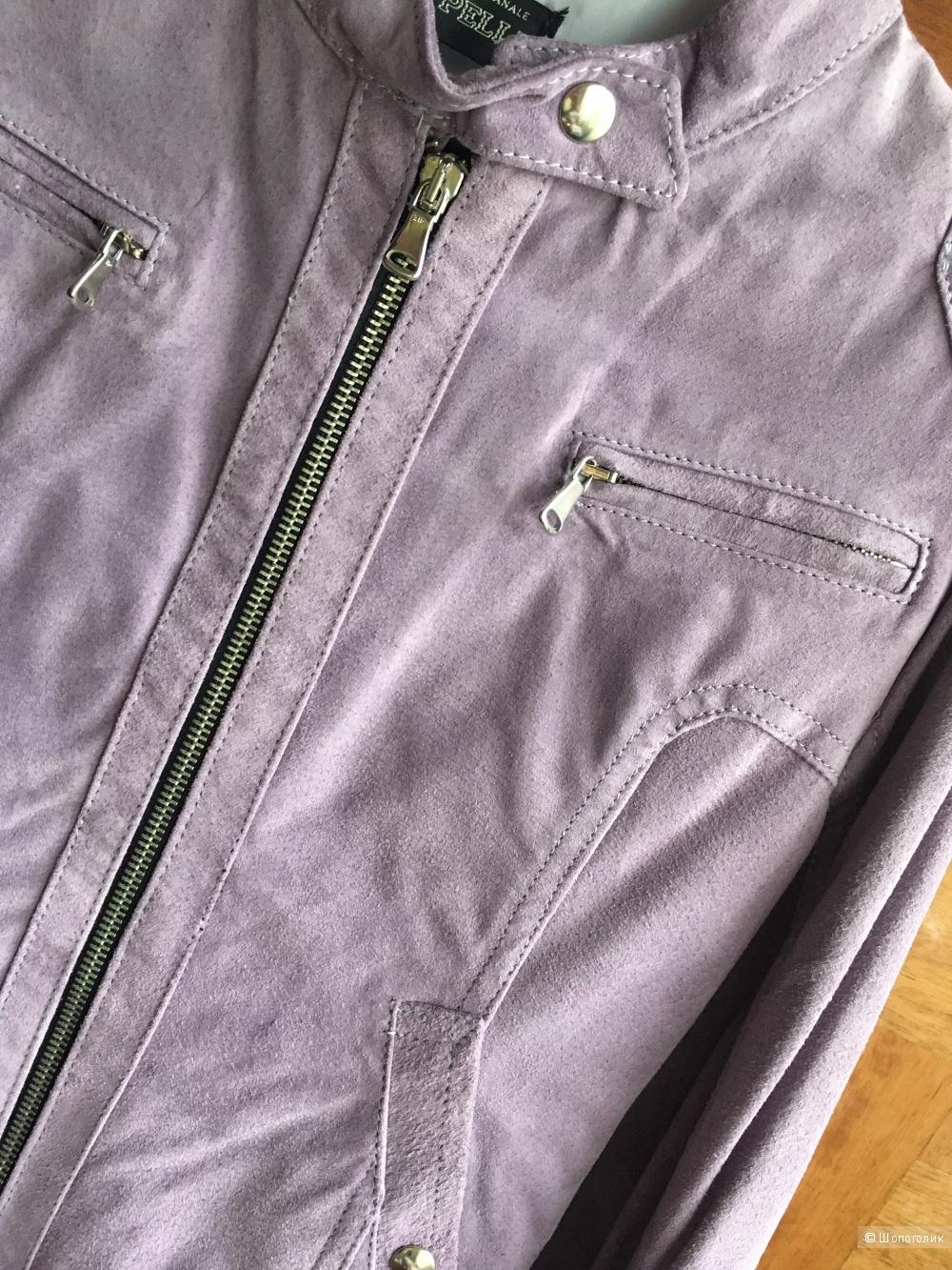 Замшевая куртка Vera Pelle, M (на S)