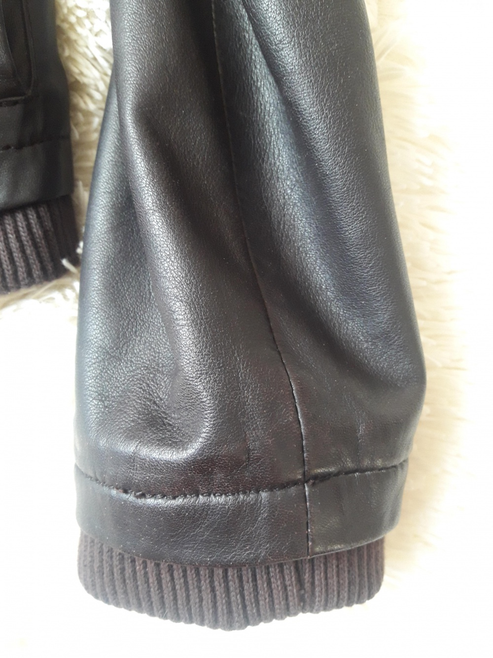 Куртка кожаная Promod 44-46