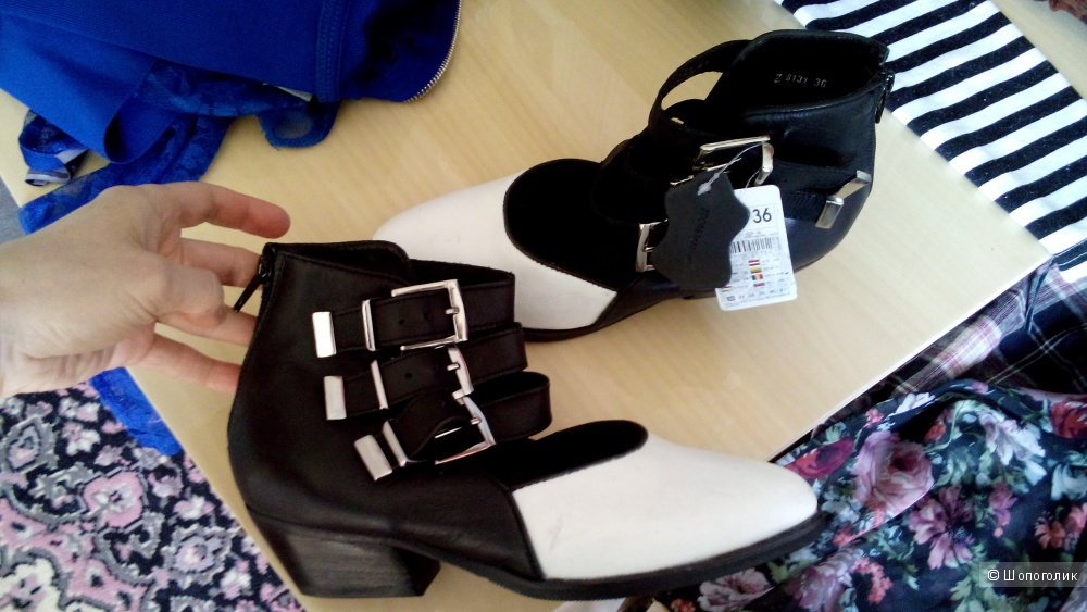 Туфли казаки Reserved, 36/37 размер