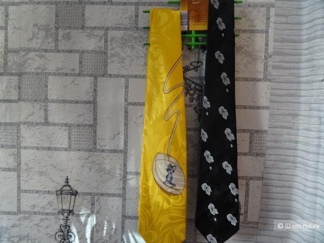 """Сет: два галстука """"Romendik"""", """"Gold&Citi"""""""