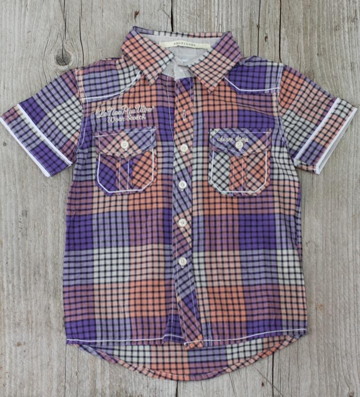 Рубашка Angrydamp 120р-р