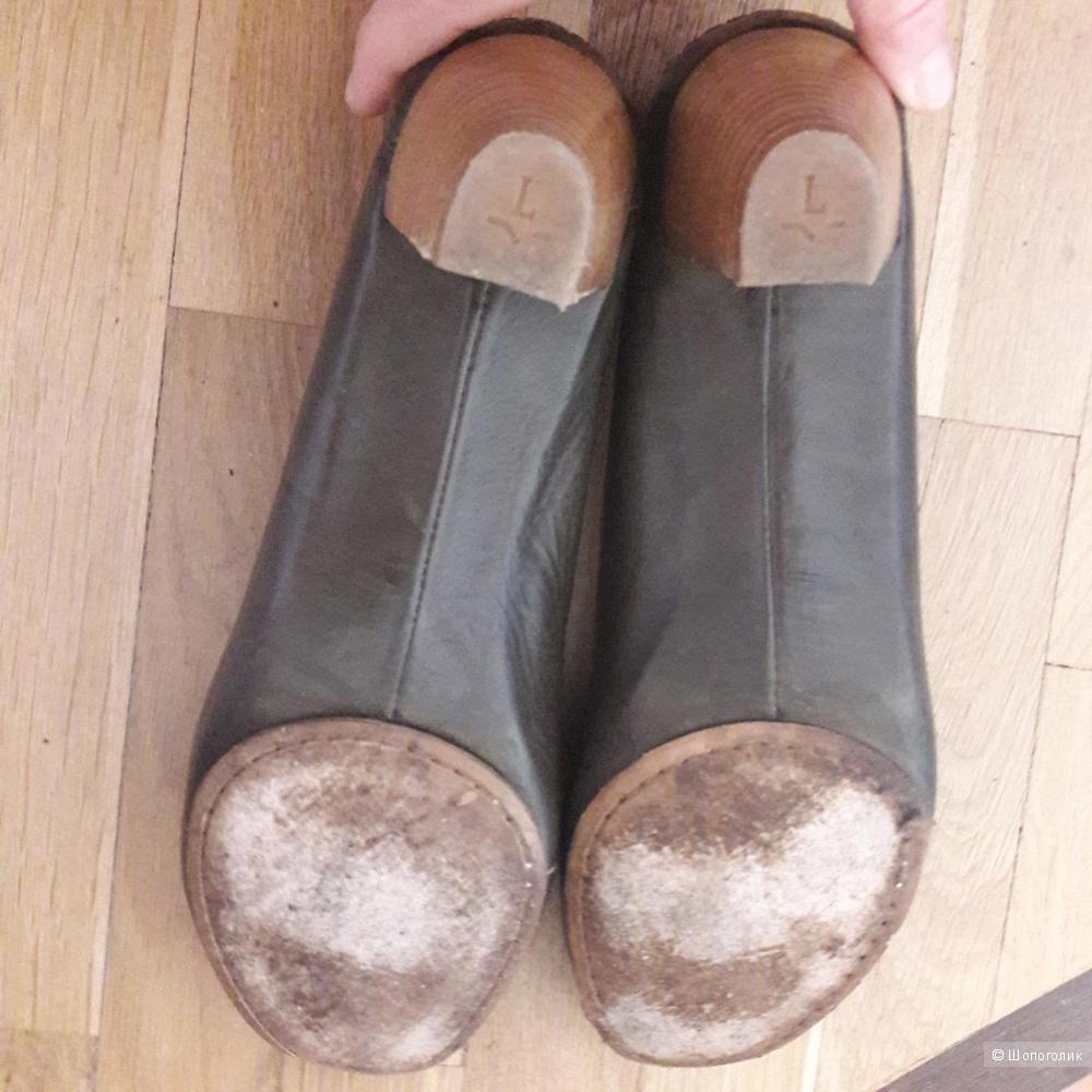 Кожаные мокасины Lottusse  41 размера