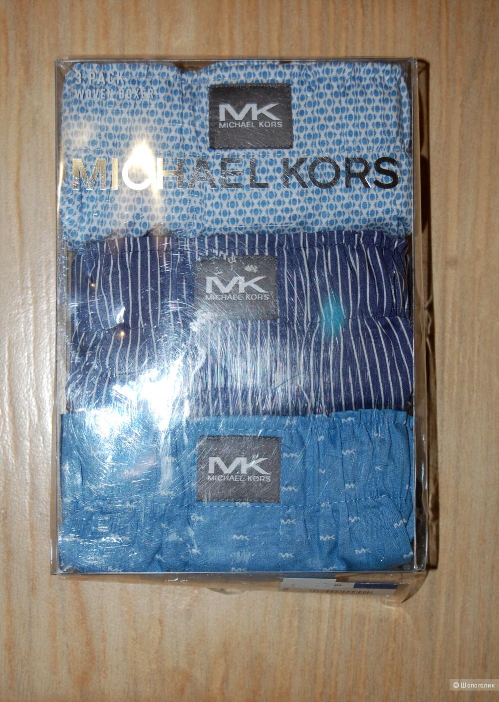 Трусы Боксеры Michael Kors разм XL 3 шт в упаковке