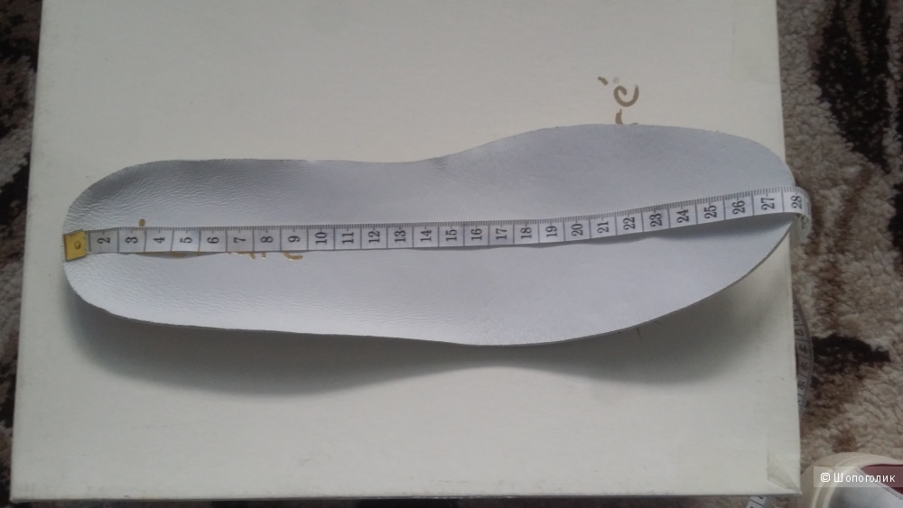 Кеды LEMARÉ 40 размер