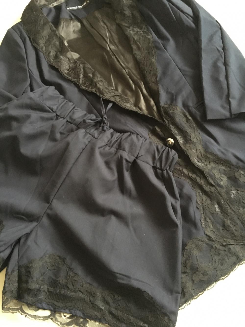 Комплект пиджак+шорты, M