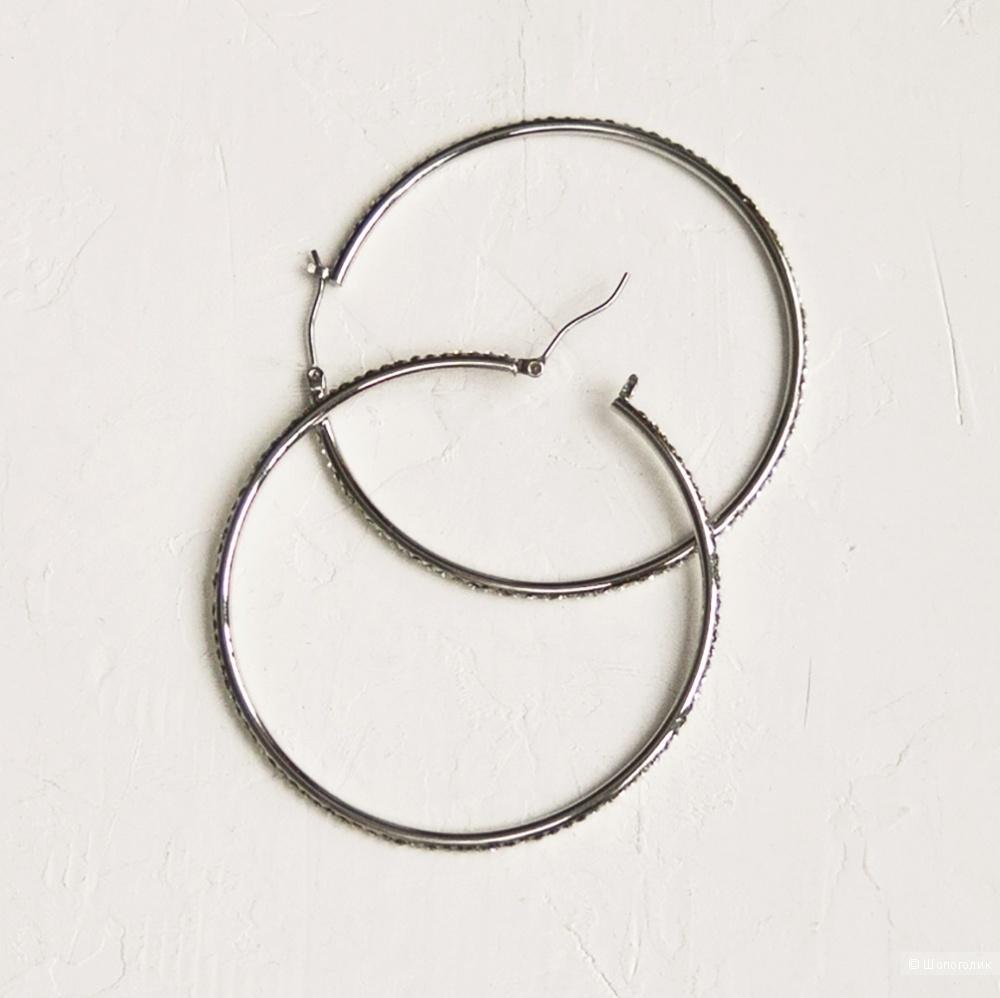 Серьги кольца Ralph Lauren