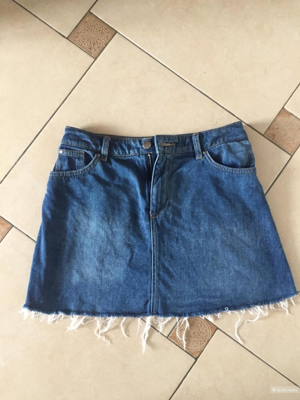Джинсовая юбка H&M 42-44