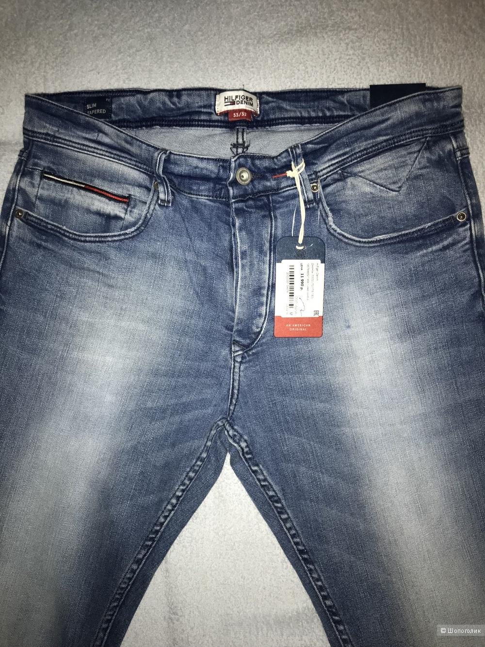 Мужские джинсы Tommy Hilfiger, размер W33 L 32
