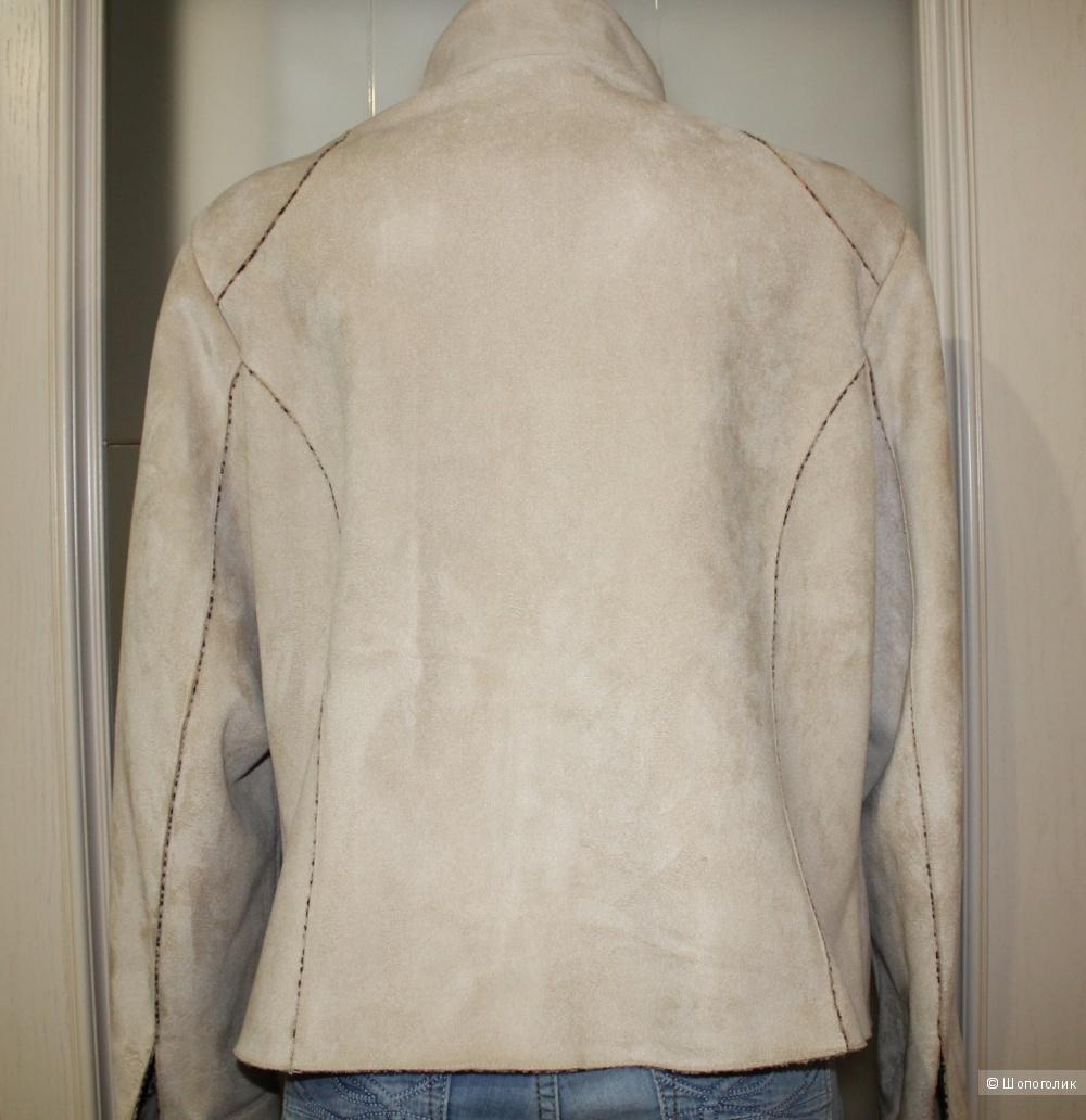 Куртка из искусственной замши, размер 48-50