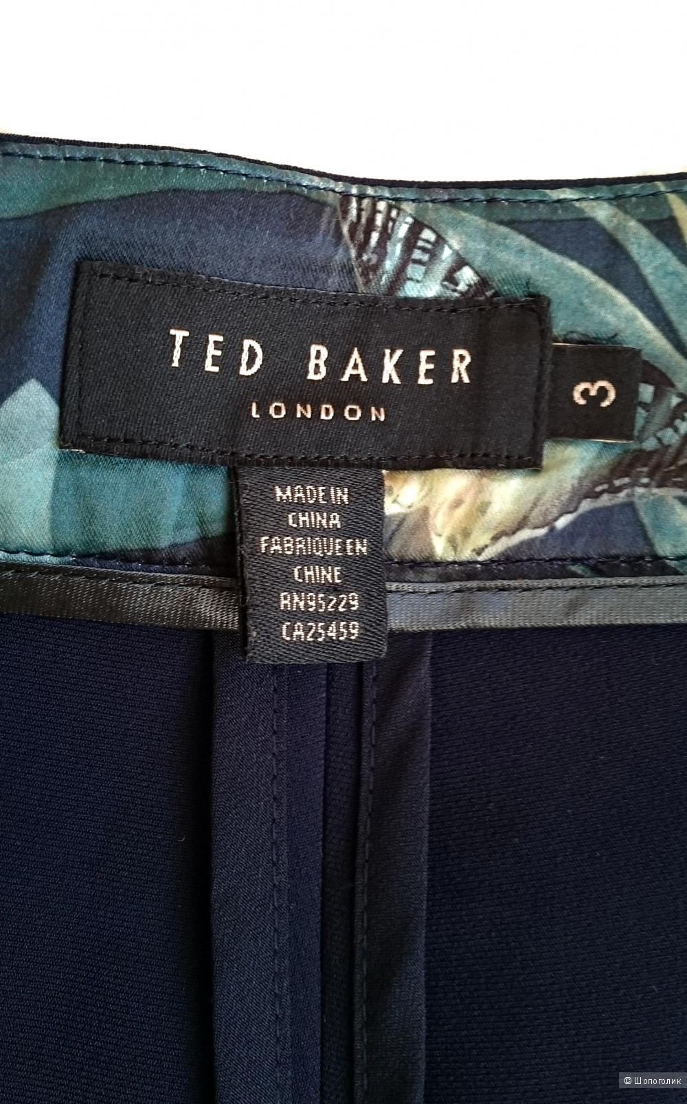Укороченные брюки Ted Baker London размер 46