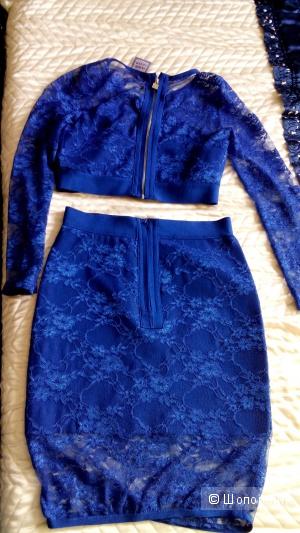 Костюм юбка и топ Herve Leger 44  размер