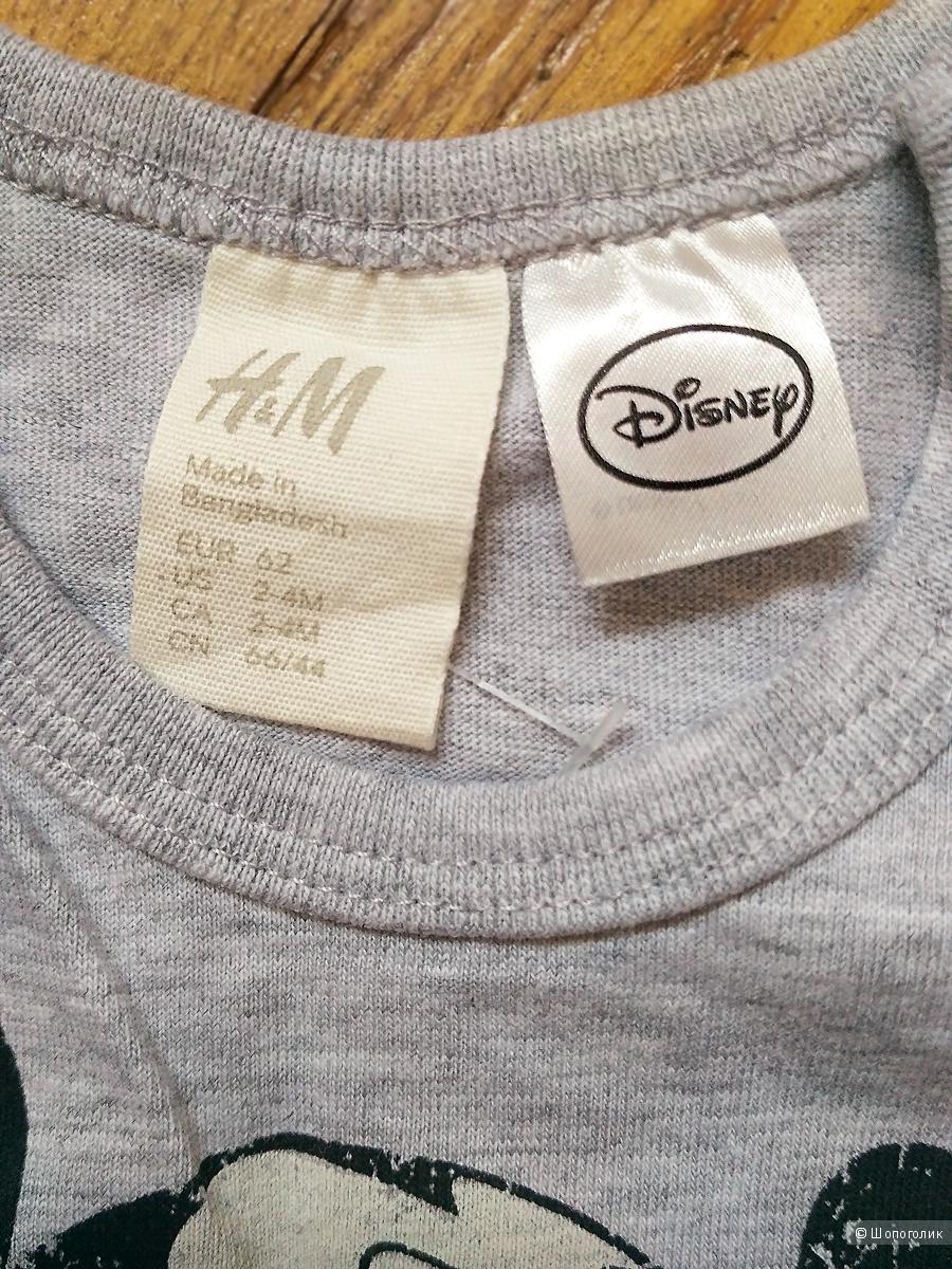 Боди H&M, рост 62 см