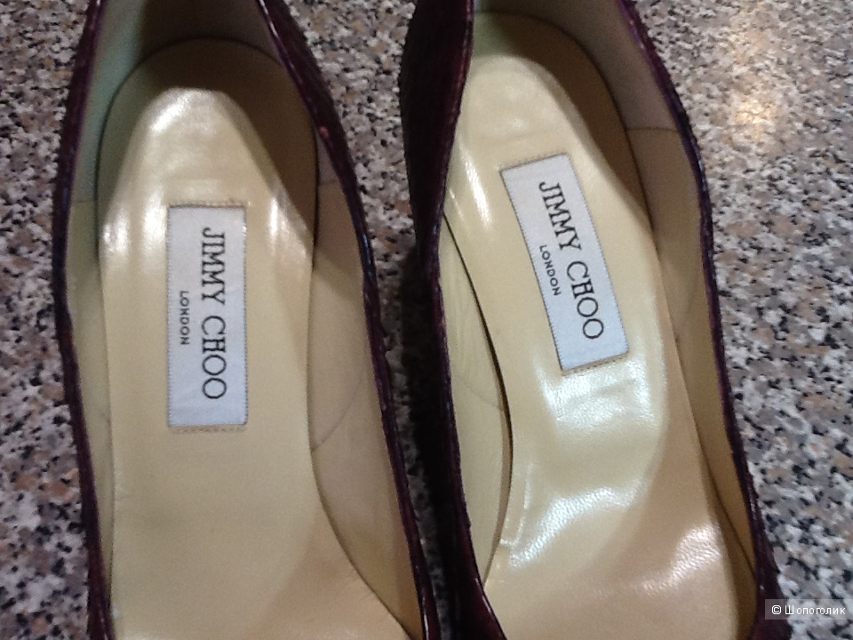 Туфли лодочки JIMMY  CHOO London размер 38