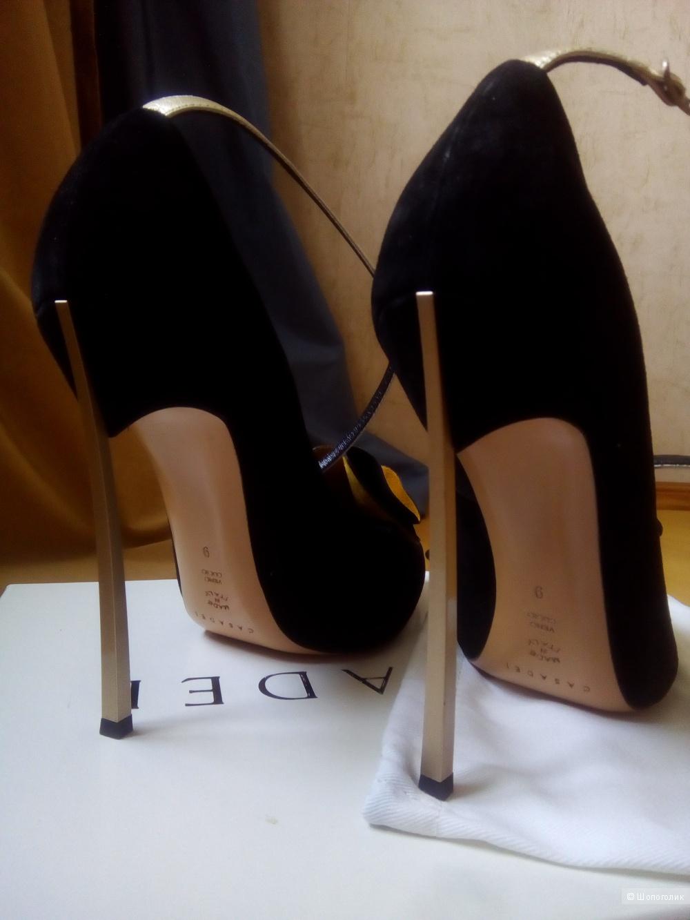 Туфли Casadei размер 38-38,5