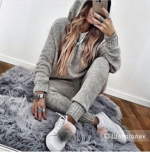 Костюм Grey Lurex, one size