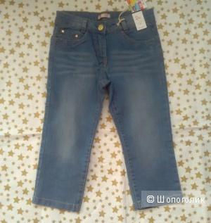 Бриджи джинсовые. 126 см. Dpam.