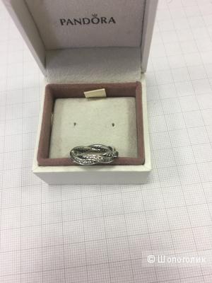 Кольцо Pandora, размер 16 (48)