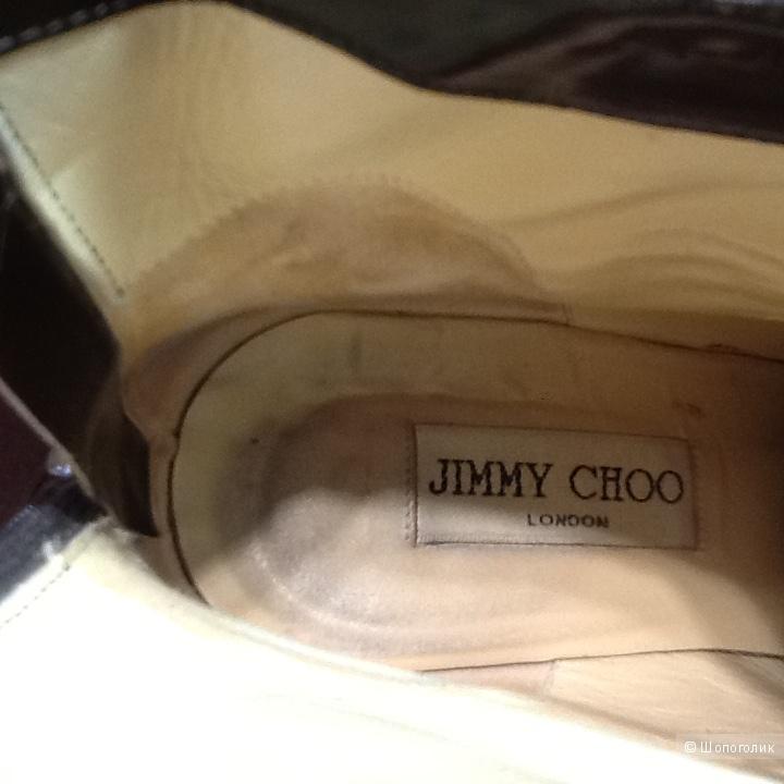 Ботильоны замшевые JIMMY CHOO размер 37,5