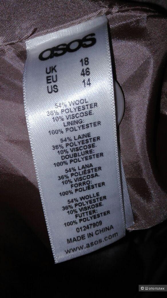 Пальто ASOS CURVE, размер 18 (рос. 52-54)