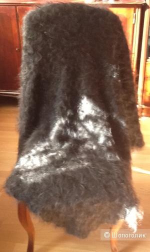 Шаль Оренбургская пуховая шаль 150 см на 150 см