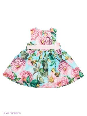 Хлопковое платье для девочки Monna Rosa на 4 года