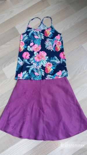 Комплект юбка и топ размер s